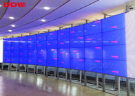 55 Inch Curved video wall 3840 x 2160 HD large format display 1.7mm Bezel width