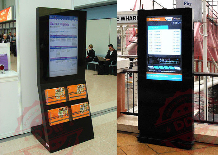 Innovative 32 Lcd Ad Display Outdoor Digital Signs 0.1805 × 0.5415 Mm Pixel Pitch