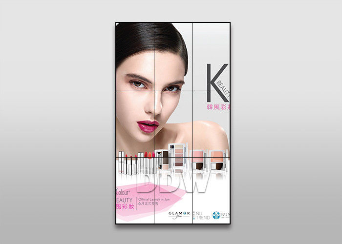 55 inch 3.5 mm 700nits LG ultra narrow bezel LCD video wall for fashion store advertising DDW-LW550HN12