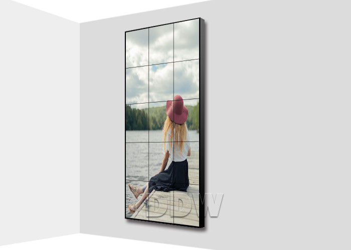 1.7 mm super narrow bezel video wall displays 46 inch lcd video wall video HDMI Signal support