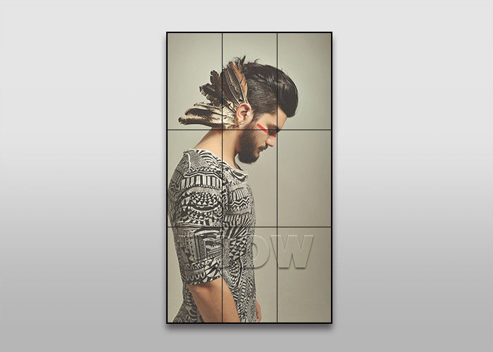 49inch 3.5mm 3x3 LCD video wall for fashion store advertising DDW-LW490DUN-THC1