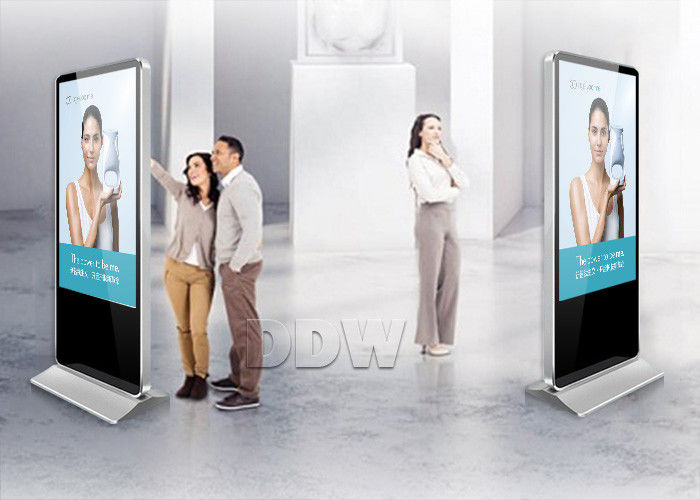 TFT Touch Scren Interactive Lcd Digital Signage Malaysia LAN / Wifi / 3g Network DDW-AD5501SN