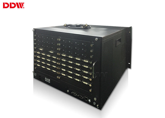 1x4 / 2x2 video wall controller 1080P higher resolution RS232 / IP Control method DDW-VPH0808