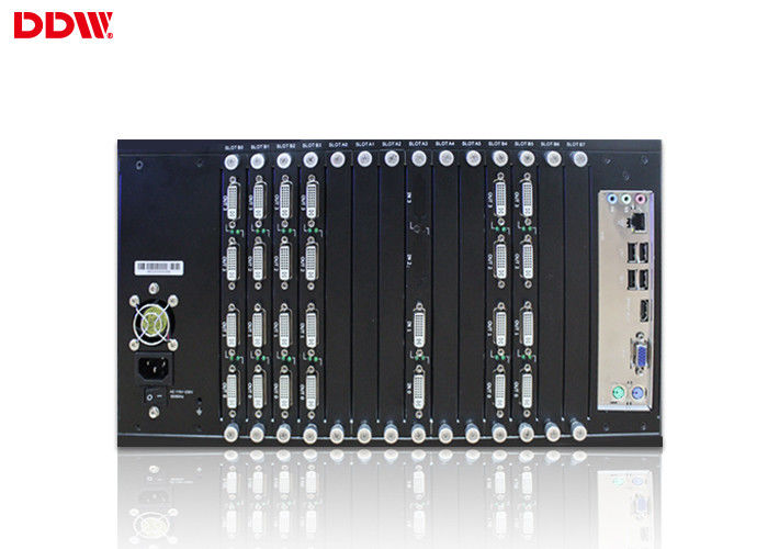 High Precision Hdmi Video Wall Processor RS232 Control For Subway / Airport Display  DDW-VPH0506