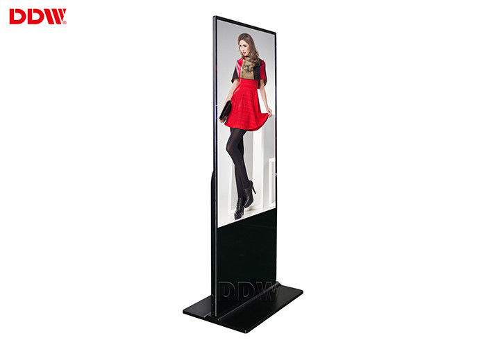 1920x1080 84 Inch Lcd Advertising Player Floor Sign Stands Sunlight Readable Panel DDW-AD8401SNO