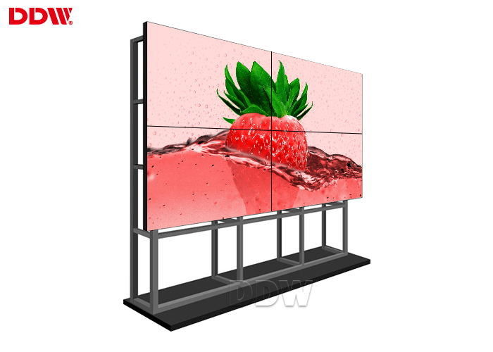 HD Splitter 3840x2160 250W 3x3 Video Wall Lcd Monitors